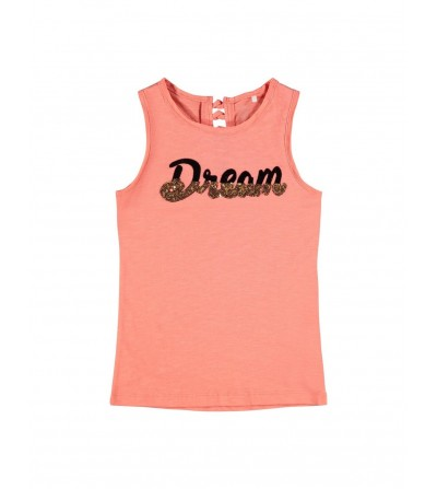 camiseta dream mandarina