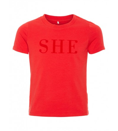 camiseta she niña